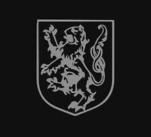 A Complete Guide to Heraldry - Figure 289 — Lion rampant, tail nowed Unisex T-Shirt