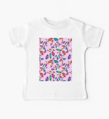 scattered candy Baby Tee