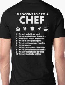 10 Reasons To Date A Chef - TShirts & Hoodies T-Shirt