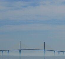 Sunshine Skyway Bridge by Peri