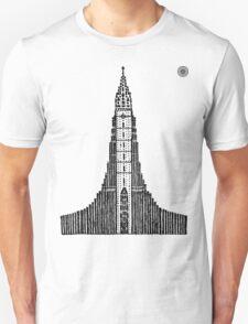 Hallgrimskirkja (Icelandic Cathedral) Unisex T-Shirt