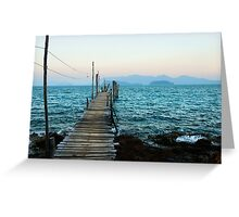Gulf of Thailand Greeting Card