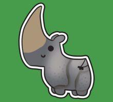Cute Javan Rhino Kids Clothes