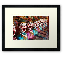 clown games Framed Print