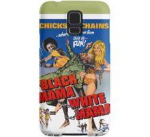 Black Mama White Mama (Green) Samsung Galaxy Case/Skin