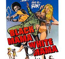 Black Mama White Mama (Orange) by PulpBoutique