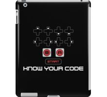 Know Your Code iPad Case/Skin