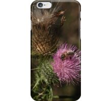 Thistle Bee It iPhone Case/Skin