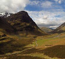 Glen Coe, Scottish Highlands by wiggyofipswich