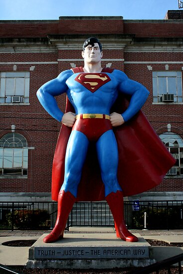 Superman @ home by Ghelly