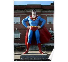 Superman @ home Poster