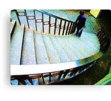 Stair World Canvas Print