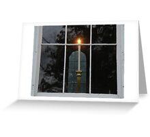 Window Candle Greeting Card