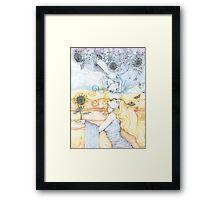 The Divine in Me Framed Print