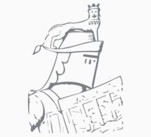A Complete Guide to Heraldry - Figure 618 — Crest of Thomas de Mowbray, Earl of Nottingham, and Earl Marshal (From a drawing of his seal, 1389 Kids Tee