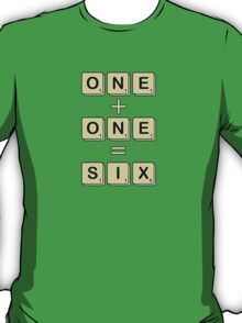Scrabble Math T-Shirt