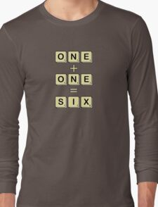 Scrabble Math Long Sleeve T-Shirt