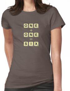 Scrabble Math Womens Fitted T-Shirt