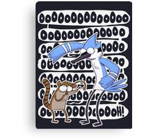 Regular Show Oooh! Canvas Print