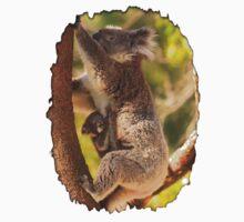 Koala & Cub - Western Australia Kids Tee