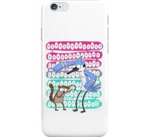 Regular Show Oooh! white version iPhone Case/Skin