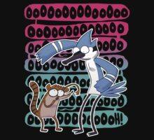 Regular Show Oooh! white version Kids Clothes