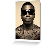 Gucci Mane Greeting Card