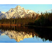 Teton Grand Sunrise 2 Photographic Print