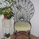 Lacey Spanish Chair With a Flair by Pat Yager