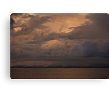 Sunset over Far North Queensland Canvas Print