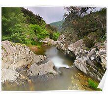 The Verne river at springtime Poster