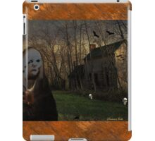 The Skull Collector Ghoul at Work iPad Case/Skin