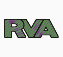 RVA Logo in Wild Pink and Green by Elizadearg