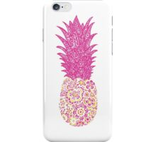 Pink Pineapple iPhone Case/Skin