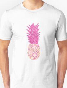 Pink Pineapple Unisex T-Shirt