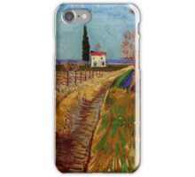Path Through a Field with Willows - Vincent van Gogh iPhone Case/Skin