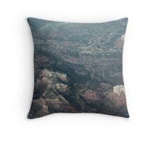 Views From Above: Sedona Arizona Throw Pillow