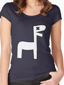 cavedrawing Women's Fitted Scoop T-Shirt