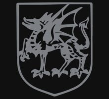 A Complete Guide to Heraldry - Figure 425 — Dragon passant by wetdryvac