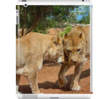 Lionesses iPad Case/Skin