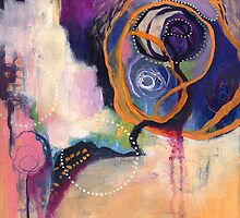 Lace & Spiral by brenda mangalore
