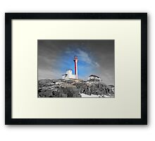 By the light of day Framed Print