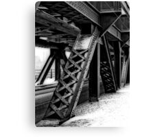 High Level Bridge Canvas Print