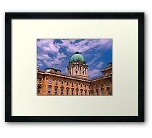 The Royal Palace in Budapest Framed Print