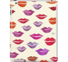 Beauty Bag! LIPS iPad Case/Skin