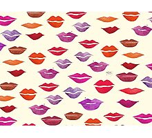 Beauty Bag! LIPS Photographic Print