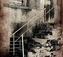 Broken Stairway by MeanChristine