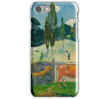 Paul Gauguin - The Red Cow iPhone Case/Skin