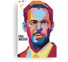 Paul Walker Canvas Print