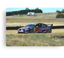 Jamie Whincup - Symmons Plains Canvas Print